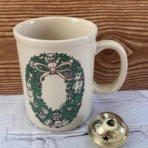 Enesco Lucy & Me Bear Christmas mug